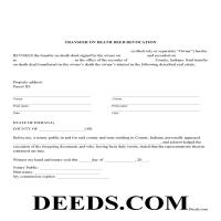 Warren County Transfer on Death Deed Revocation Form Page 1