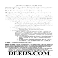 Warren County Transfer on Death Revocation Guide Page 1