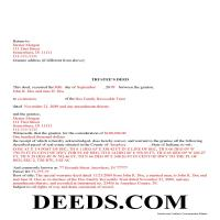 Franklin County Completed Example of the Trustee Deed Document Page 1