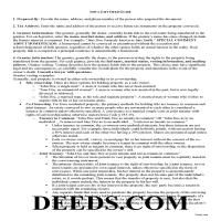 Adair County Gift Deed Guide Page 1