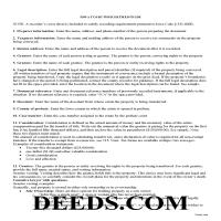 Woodbury County Court Officer Deed Guide Page 1