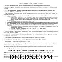 Henry County Notice to Primary Contractor Guide Page 1
