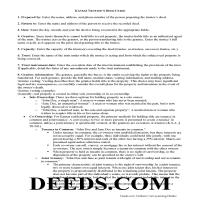 Republic County Trustee Deed Guide Page 1