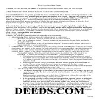Marion County Gift Deed Guide Page 1