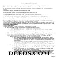 Morgan County Administrator Deed Guide Page 1