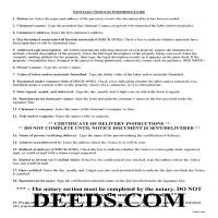 Jackson County Notice of Furnishing Guide Page 1