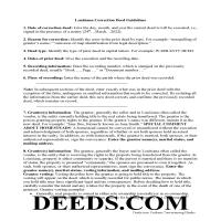 Vernon Parish Correction Deed Guide Page 1
