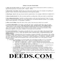 Franklin County Correction Deed Guide Page 1