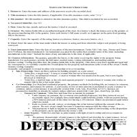 Carroll County Trustee Deed Guide Page 1