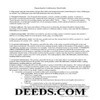 Barnstable County Correction Deed Guide Page 1
