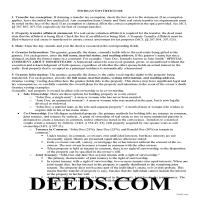 Alger County Gift Deed Guide Page 1