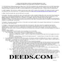 Mower County Quit Claim Deed Guide Page 1