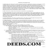 Marshall County Gift Deed Guide Page 1