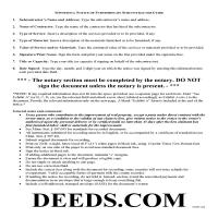 Wilkin County Subcontractor Notice of Furnishing Guide Page 1