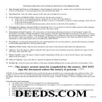 Benton County Receipt and Waiver of Mechanic Lien Guide Page 1