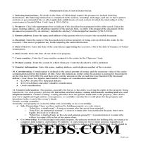 Washington County Executor Deed Guide Page 1