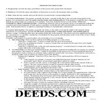 Mercer County Gift Deed Guide Page 1