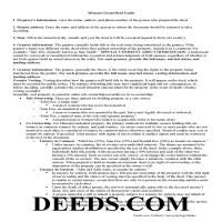 Dade County Grant Deed Guide Page 1