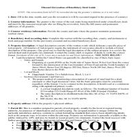 Chariton County Revocation of Beneficiary Deed Guide Page 1