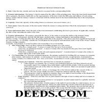 Montgomery County Trustee Deed Guide Page 1
