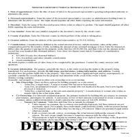 Douglas County Personal Representative Deed Guide Page 1