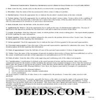 Howard County Personal Representative Deed of Sale Guide Page 1