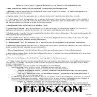 Carter County Personal Representative Deed of Distribution Guide Page 1