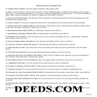Harrison County Change Order Guide Page 1