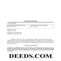 New Madrid County Completed Example of the Consent of Owner Document Page 1