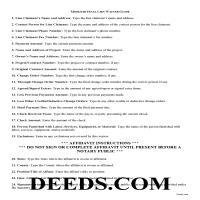 Douglas County Final Lien Waiver Guide Page 1