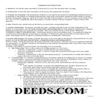 Wheeler County Gift Deed Guide Page 1