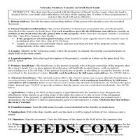 Grant County Transfer on Death Deed Guide Page 1