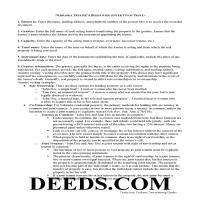 Grant County Trustee Deed Guide Page 1