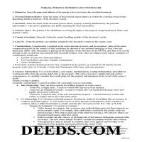 Grant County Personal Representative Deed of Sale Guide Page 1