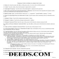 Grant County Notice of Right to Assert Lien Guide Page 1