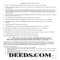 Grant County Construction Lien Guide Page 1