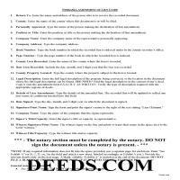 Grant County Construction Lien Amendment Guide Page 1
