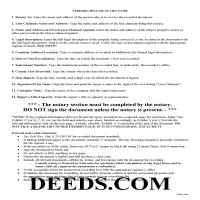 Grant County Construction Lien Release Guide Page 1