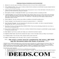 Dundy County Partial Conditional Lien Waiver Guide Page 1