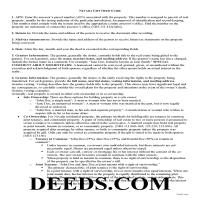 Pershing County Gift Deed Guide Page 1