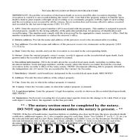 Elko County Transfer on Death Revocation Guide Page 1