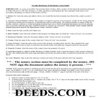 Douglas County Discharge of Lien Guide Page 1