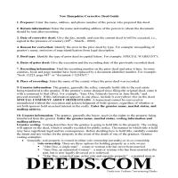 Merrimack County Correction Deed Guide Page 1