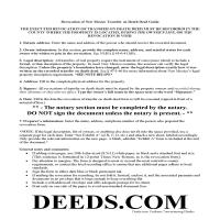 Lea County Transfer on Death Revocation Guide Page 1
