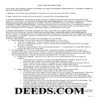 Orleans County Gift Deed Guide Page 1