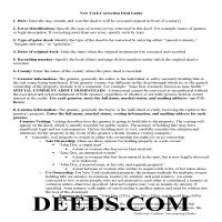 Allegany County Correction Deed Guide Page 1