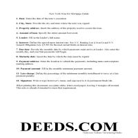 Delaware County New York Promissory Note Guide Page 1