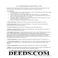 Montgomery County Disclaimer of Interest Guide Page 1