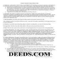 Camden County Grant Deed Guide Page 1
