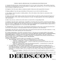 Caldwell County Beneficiary and Administrator Deed Guide Page 1